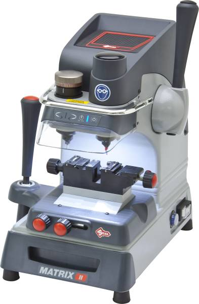 Silca Matrix II Laser and Sidewinder Key Cutting Machine.