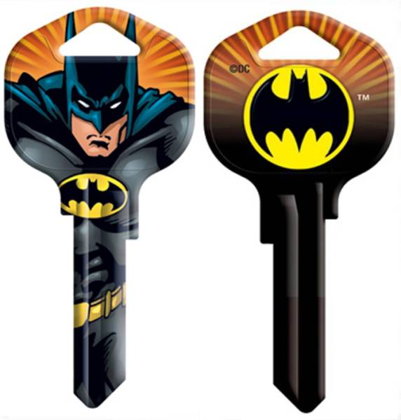 BATMAN EMBLEM House Key.